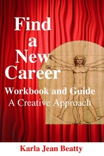 New ebook. Find a New Career: A Creative Approach. Workbook and guide.