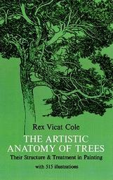 The Artistic Anatomy of Trees by Rex Vicat Cole book cover
