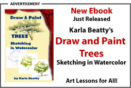 Draw and Paint Trees by Karla Beatty